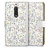 DeinDesign Étui Compatible avec Nokia 5 Étui Folio Étui magnétique Produit sous Licence...