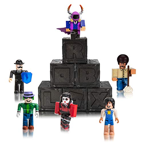 Roblox Action Collection - Series 7 Mystery Figure 6-Pack [Includes 6 Exclusive Virtual Items]