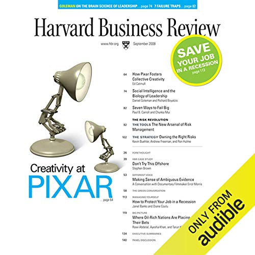 Harvard Business Review, September 2008 audiobook cover art