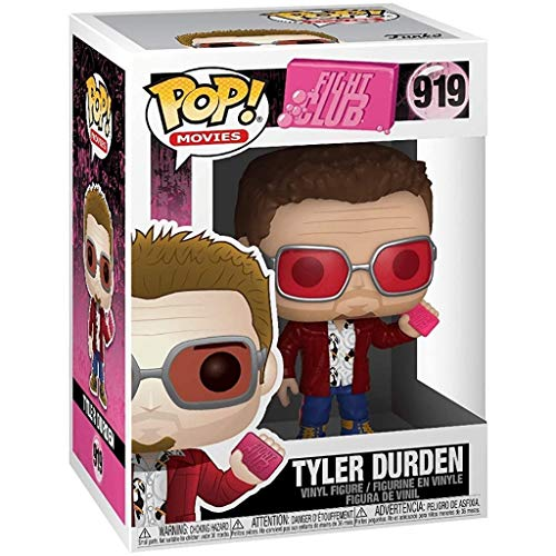 POP! Movies: Fight Club- Tyler Durden w/Chase and Buddy (edizione speciale)