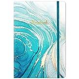 Liniertes Notizbuch / Tagebuch - Liniertes Tagebuch, 8,4 'x 5,8', Hardcover, Seitenmarkierung, dicke Rückentasche, flaches 360 ° -Lagen zum einfachen Schreiben mit Premium-Papier