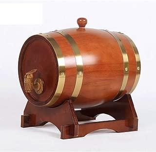 ZCCYMX Oak barrels, barrels, home-brewed wine barrels, oak barrels, gallbladder fermenters, oak barrels, resin storage, spirits and spirits, lining, various sizes (Size : 50L)