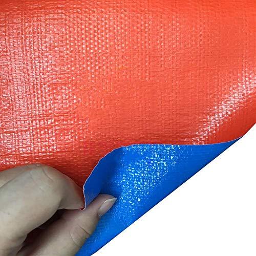 JY&WIN zeildoek-rechthoekige anti-UV zonwering voor feestjes waterdichte hoogpresterende plannen zwembadafdekkingen met oogjes 160 G M & sup2; (maat: 3 mx 4 m) 6 m x 12 m