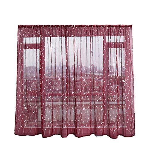 cortinas dormitorio burdeos