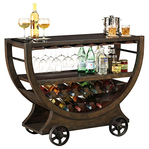 Howard Miller Wine Cabinet/Bar, Rustic