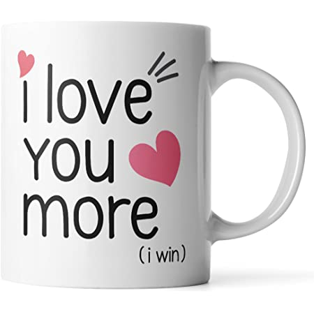 I Love You More Than I Love Justin Bieber Ideal Gift Printed Mug