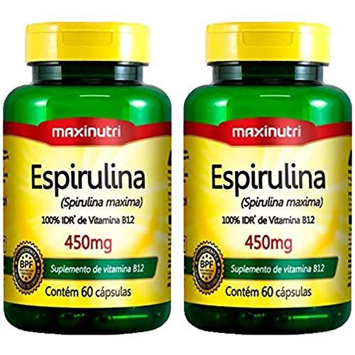Espirulina - 2 unidades de 60 Cápsulas - Maxinutri