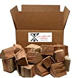 Jax Smok'in Tinder Premium BBQ Wood Chunks for Smokers and Grilling- Approximately 10 lb Shipped in 12' x 9' x 7' Box -100% All Natural Kiln Dried Chunk Wood for Smoking Meat (Apple)