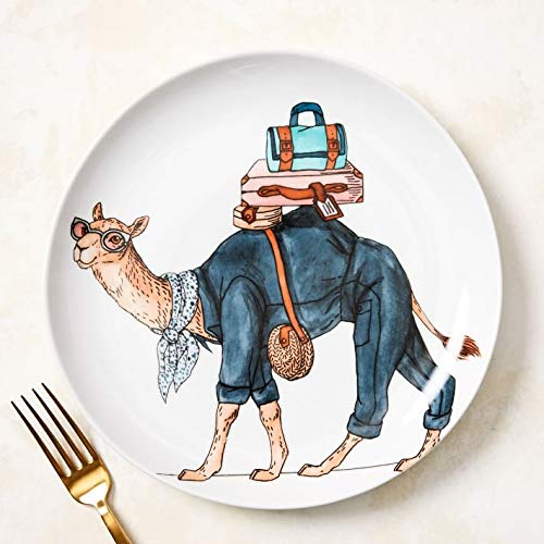 Camel Animal Salad Plate- Each - West Elm