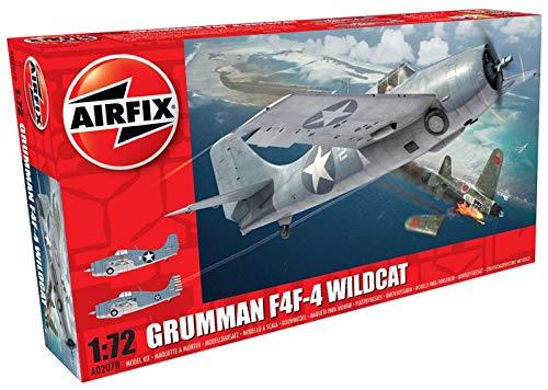 Airfix A02070 1/72 Grumman F4F-4 Wildcat Modellbausatz
