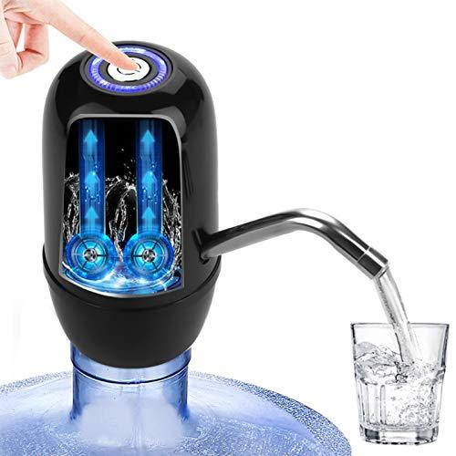 Omabeta Universal Wasserspender Flasche Wasserpumpe für Wohnzimmer für Spielplatz(Black)