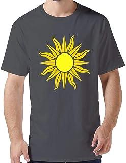 ZYXcustom DIY A Shining Sun T-Shirt for Men