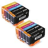 🌈 Cartucce d'inchiostro compatibili JOTO 364XL nuove (non OEM). I chip vengono aggiornati per essere compatibili con i nuovi modelli di stampanti elencati che utilizzano cartucce d'inchiostro 364 XL.