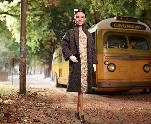 Barbie Collector - Muñeca mujeres que inspiran Rosa Parks (Mattel FXD76)