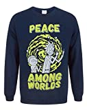 Rick And Morty Peace Among Worlds Men's Sweater (L)