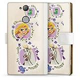 DeinDesign Étui Compatible avec Sony Xperia XA2 Étui Folio Étui magnétique Disney Raiponce...