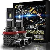 Cougar Motor H11 | H8 | H9 LED Bulb, 10000LM 6500K...