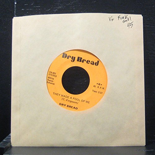 Dry Bread - Don't Squeeze The Mango / They Made A fool Of Me - 7' Vinyl 45 Record