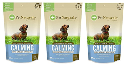Pet Naturals of Vermont - Calming for Dogs,...