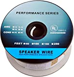 C&E CNE62686 Premium Series CL2 Rated 2-Conductor 14 Gauge in Wall Speaker Wire