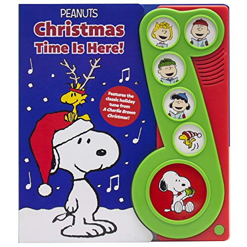 Peanuts - Christmas Time is Here! Charlie Brown Sound Book - PI Kids (Play-A-Song)