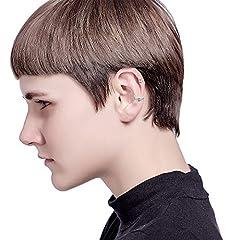 Milacolato 20Pcs Adjustable Ear Cuffs Earrings Set for Women Stainless Steel Non-Piercing Cartilage Clip On Wrap Earring Set #4