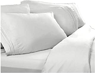 Twin XL Extra Long Sheets: White, 1800 Thread Count Egyptian Bed Sheets, Deep Pocket. Reg $129.95. Sale $39.95. Twin Extra Long Size Sheet Sets.