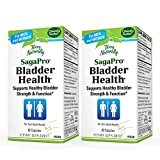 Terry Naturally SagaPro Bladder Health - 60 Capsules, Pack of 2 - 100 mg Angelica Archangelica - Bladder Strength & Function Support for Men & Women - Non-GMO, Gluten Free - 120 Total Servings