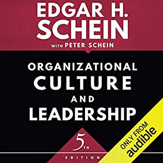 Organizational Culture and Leadership, Fifth Edition audiobook cover art