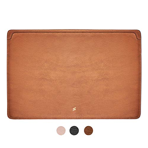 Suritt ® Funda para MacBook de Piel Protectora Corteccia (3 Colores siponibles) (MacBook Pro 13´´, Brown)