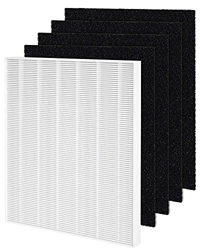 Fil-fresh 115115 HEPA Air Filter A Compatible with Winix 5300-2, 5300, 6300 Air Purifier, 1-Years Replacement Pack Include 1 True...