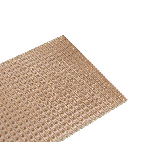 WITTKOWARE Streifenrasterplatine, 100x160x1,5mm, Cu 35µm, RM2,54