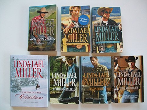 Montana Creeds (Set of 7) Logan; Dylan; Tyler; Creed Country Christmas; Stone Creek; Honor; Legacy