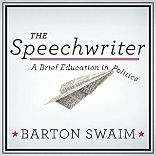 The Speechwriter audiobook cover art