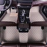 8X-SPEED Alfombra del Piso Auto Cuero Estera del Coche para DS 4 2012-2014 Desgaste Antideslizante Alfombrillas Tapetes Gris