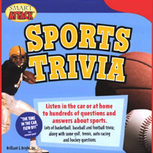 Smart Attack Sports Trivia audiobook cover art