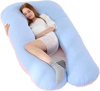 rofern Waist Support Pregnancy Pillow Soft U-Shaped Maternity Pillow Cushion Pillows