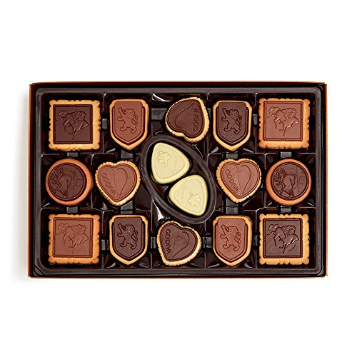 Product Image 2: GODIVA Chocolatier Assorted Gift Box Chocolate Cookie, Covered Biscuit
