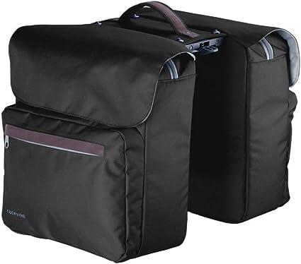 Taille Unique Racktime Porte-Bagages Eco 2 Tour Unisexe pour Adulte Noir