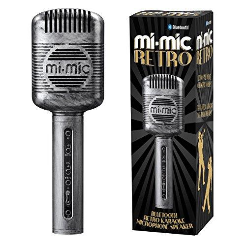 Mi-Mic TY6009 Karaoke - Altavoz inalámbrico con Bluetooth y Cambiador de Voz, Color Negro