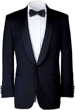 Gentleline - Esmoquin clásico, camisa blanca para esmoquin y pajarita