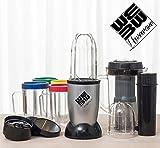 Le nouveau We Bullet - Robot multifonctions avec l'extracteur de jus - Kit 21 pièces - mélanger mixeur blender smoothies chopper...
