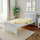Max & Lily Twin-Size Bed, White