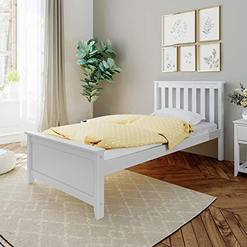 Max & Lily Twin Bed, White
