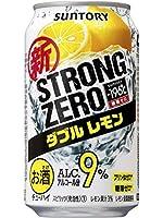 サントリー -196℃ ストロングゼロ ダブルレモン 9度 350ml×1ケース(24本)