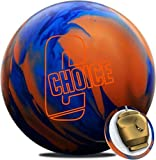 Ebonite Choice Solid Blue/Orange 15lb