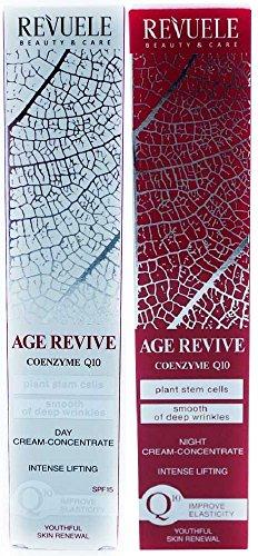 revuele belleza y cuidado edad Revive de día y crema de noche concentrado intenso Lifting 50ml