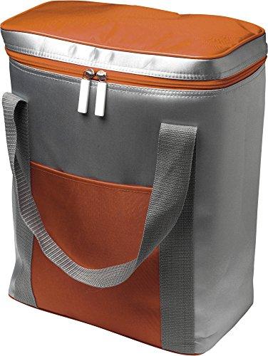 Kühltasche XXL Isoliertasche für mehrere Literflaschen Volumen 16,92 L Thermotasche Orange