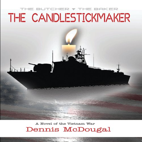 The Candlestickmaker audiobook cover art