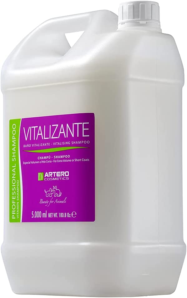 Artero Cosmetics Vitalizante Selling and selling Dog 180.8 Shampoo Ounce Discount mail order